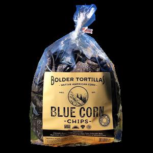 BOL blue corn chips