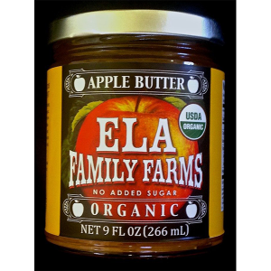 ELA apple butter