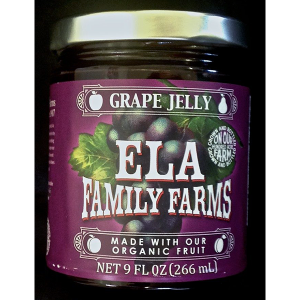 ELA grape jelly