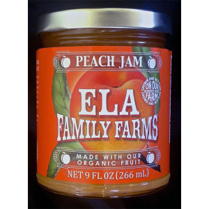 ELA peach jam