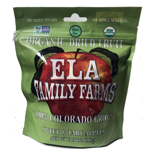 ELA dried apples