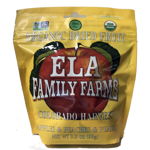 ELA dried harvest