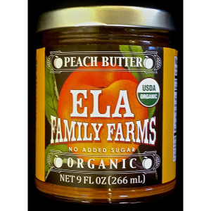 ELA peach butter